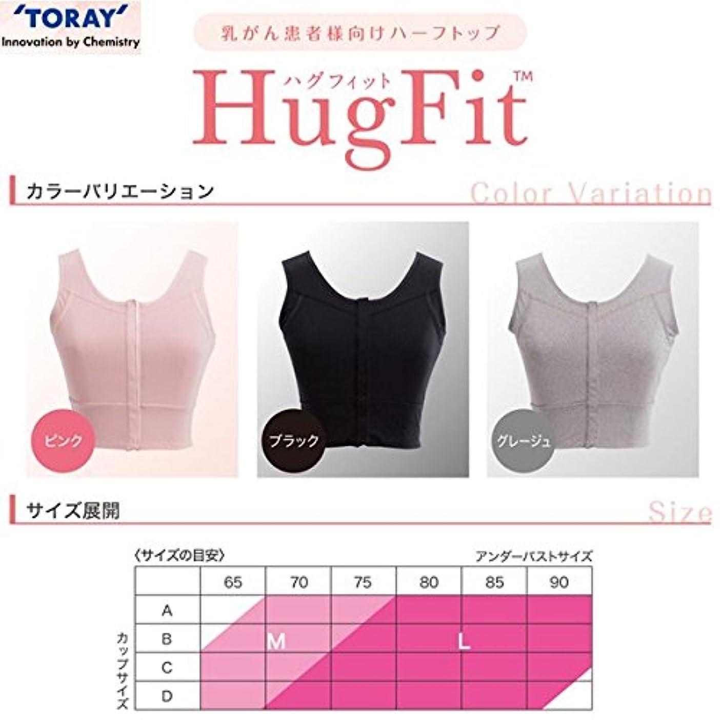 送信する心臓節約するハグフィット HugFit ブラック Mサイズ 東レ?メディカル