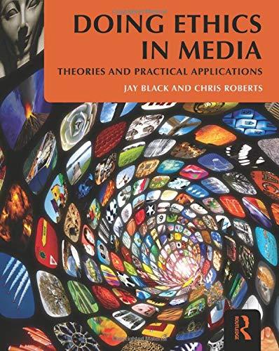 Download Doing Ethics in Media 0415881544