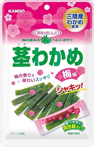 カンロ 茎わかめ 梅味(徳用) 58g×6袋