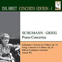 イディル・ビレット/コンチェルト・エディション 第1集 シューマン&グリーグ:ピアノ協奏曲