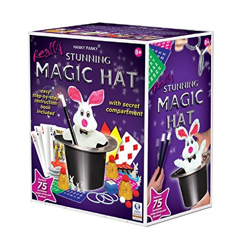 Hanky Panky Stunning Magic Hat with 75 Magic Tricks [並行輸入品]