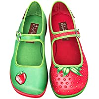 Hot Chocolate Design Chocolaticas Strawberry Women's Mary Jane Flat