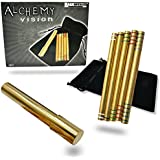 Alchemy Vision (Wizard's Wands) Brass - Mind Reading Magic Trick by Magic Makers