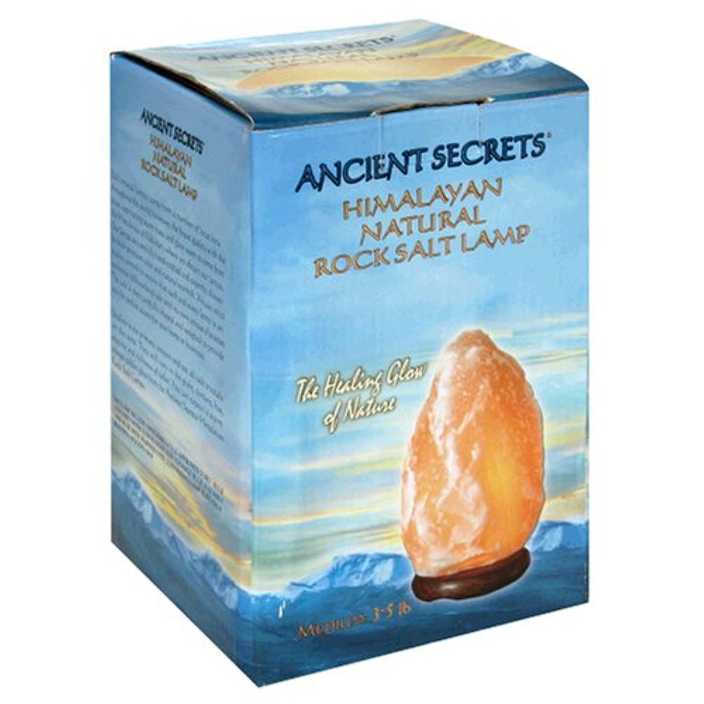 クライストチャーチ田舎所有者Ancient Secrets, Lotus Brand Inc., Himalayan Natural Rock Salt Lamp, Medium, 3-5 lb Lamp (Discontinued Item)