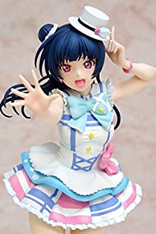 Dream Tech ラブライブ!サンシャイン!! 津島 善子 君のこころは輝いてるかい?Ver. 1/8スケール PVC製 塗装済み 完成品 フィギュア