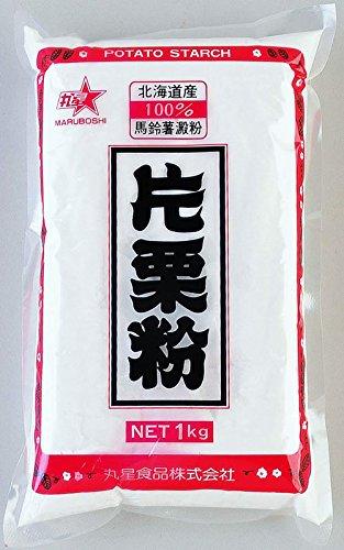 丸星 片栗粉 北海道産馬鈴薯でん粉100% 使用1Kg