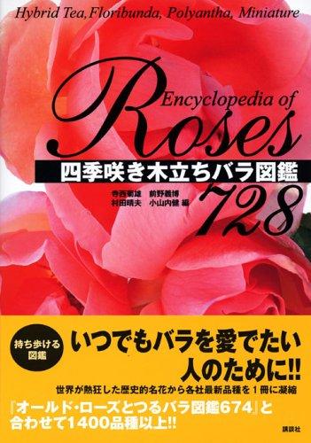 四季咲き木立ちバラ図鑑728の詳細を見る