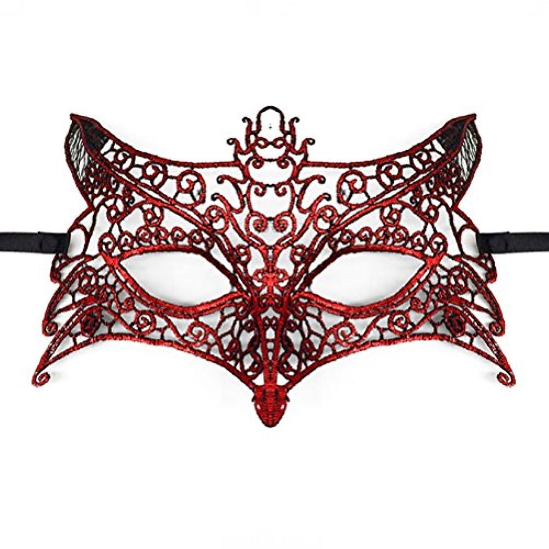 箱安定しました装備するToyvian ハロウィーンパーティー用レースマスカレードマスク(ウルフヘッド)