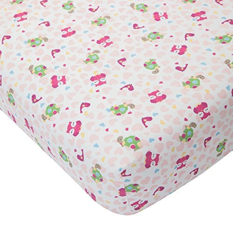 Lambs & Ivy Sprinkles Fitted Crib Sheet [並行輸入品]
