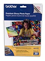 Brother 8 1/2 x 11 Inch High Gloss Inkjet Paper 20 sheets (BP61GLL) - Retail Packaging by Brother Printer [並行輸入品]