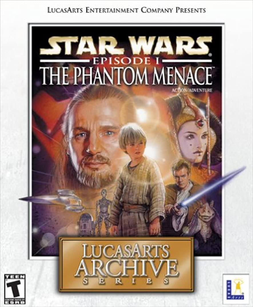 聖職者成功したタックルLucasArts Archive Series: Star Wars Episode 1 - The Phantom Menace (輸入版)