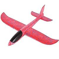 ローン ハロウィン 発泡体 スローイング グライダー 飛行機 インナティア 航空機 おもちゃ ハンドランチ 飛行機 模型 A ブラック aaa