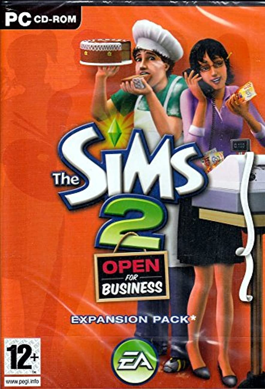サンダース庭園デイジーThe Sims 2: Open for Business Expansion Pack (輸入版)