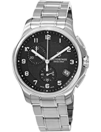 時計 Victorinox ビクトリノックス Swiss Army Officers Black Dial Stainless Steel Mens Watch 241592 メンズ 男性用 [並行輸入品]