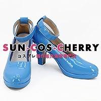【サイズ選択可】コスプレ靴 ブーツ K-2356 ネコぱら NEKOPARA 水無月家の人型ネコたち バニラ 男性26CM