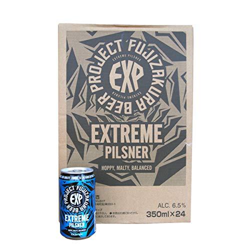 クラフトビール FUJIZAKURA BEER PROJECT エクストリームピルスナー【EXTREME PILSNER】1ケース(350ml×24缶)