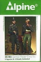 Alpine Miniatures アルパイン 1/35 負傷したドイツ戦車兵 (2体セット)