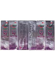 VFresh イーグルブランド(vフレッシュ)薬用アロマロールオンオイルラベンダー、4 ml(6パック)