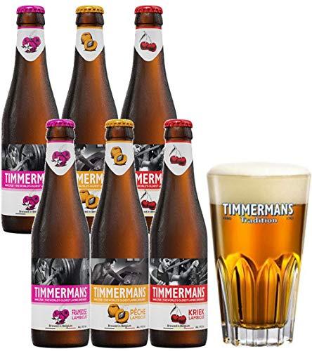【WEB限定】フルーツビール 飲み比べギフトBOX【グラス付】 [ ベルギー 1500ml /6本 ]