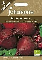 【輸入種子】 Johnsons Seeds Organic Beetroot Detroit 2 ビートルート・デトロイト・2 オーガニック ジョンソンズシード