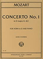 MOZART - Concierto para Trompa nコ 1 (K.412) (514) en Re Mayor para Trompa en Re y Piano (Chambers)