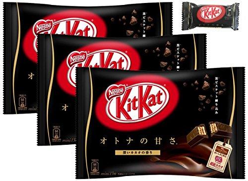 ネスレ日本 キットカット ミニ オトナの甘さ 13枚×3袋 ※おまけ付