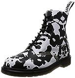 [ドクターマーチン] Dr.Martens ブーツ Pascal 8 Eye Boot Pascal White/Black(White/Black/9)