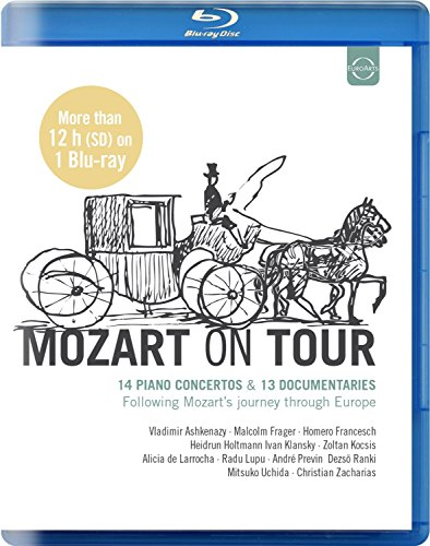 Mozart on Tour-14 Pno Cons & 13 Documentaries [Blu-ray] [Import]