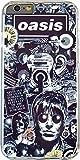 ★液晶保護フィルム付き★ Oasis iPhone6 4.7inch ハードケース / オアシス ロックバンド リアム ノエル ギャラガー ウォータープルーフパッケージ 【ノーブランド品】 [並行輸入品]