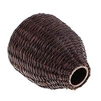 KESOTO バスケット 織りロープ 植木鉢 装飾 2点 多用途 ホーム 飾り オフィス 可愛い 素晴らしい