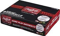 Rawlings Youth 12u Game Play Baseballs、(ボックスof 12)、r12u-tpk12