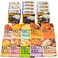 おかしのマーチ 大塚食品 マイサイズ10種+マンナンごはん10個 計20個セット