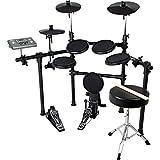 MEDELI メデリ 電子ドラム シンバルチョーク/リムショット対応モデル ブラック DD-504J DIY KIT/BK (ドラムスティック/ドラムイス付き)