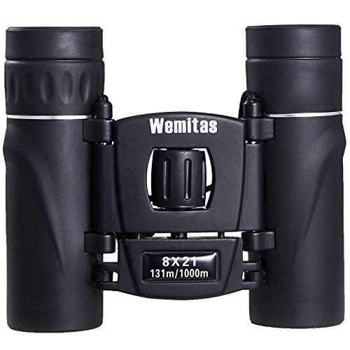 Wemitas 双眼鏡 コンサート 軽量 8倍 双眼鏡のビジョンがスマホで見れるホルダー付き 動画 写真が撮れる