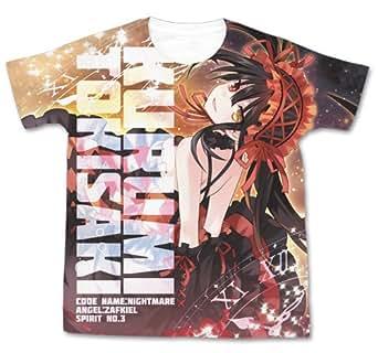 デート・ア・ライブ 原作版 時崎狂三 フルグラフィックTシャツ ホワイト Mサイズ