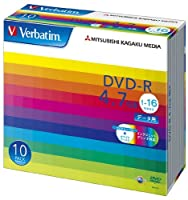 (まとめ買い) 三菱化学メディア PC DATA用 DVD-R DHR47JP10V1 【×3】
