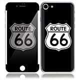 iPhone 7 スキンシール 前面 背面 保護 シール SN25/Route 66 [I7-SN25]