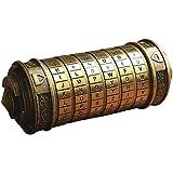 Anglemee ロックボックス パスワードボックス 恋人の贈り物 クリスマスプレゼント 指輪ケース ダヴィンチコード ゲーム道具