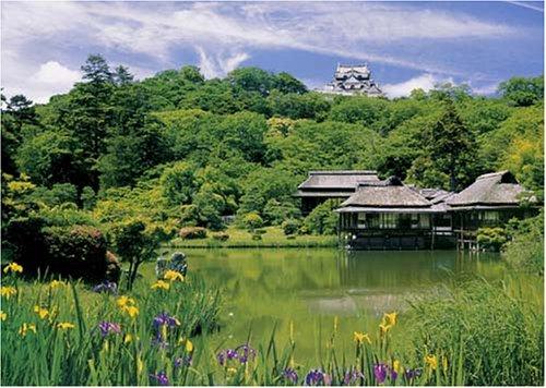 2000ピース 菖蒲咲く玄宮園 19-015
