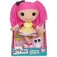 輸入ララループシー人形ドール Lalaloopsy Super Silly Party Crochet Doll- Crumbs Sugar Cookie [並行輸入品]