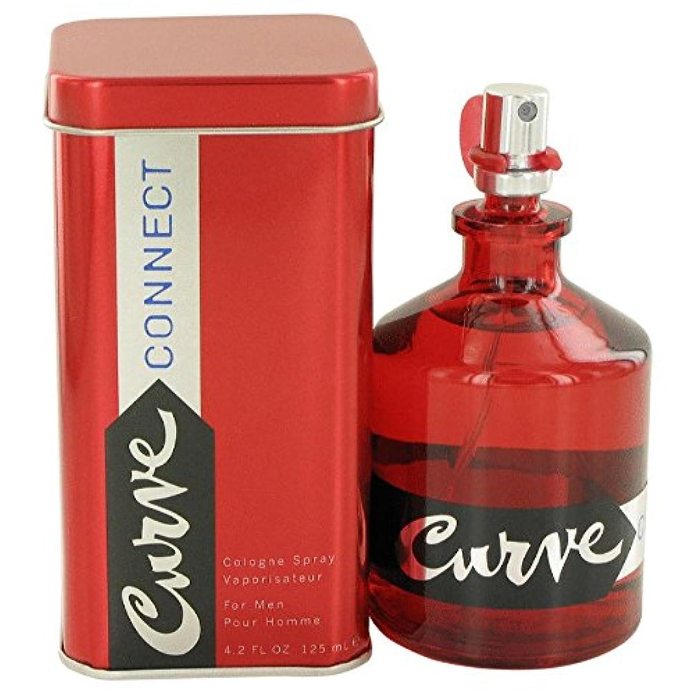 喉頭悪のフリンジLiz Claiborne Curve Connect for Men 125ml/4.2oz Eau De Cologne Spray Fragrance
