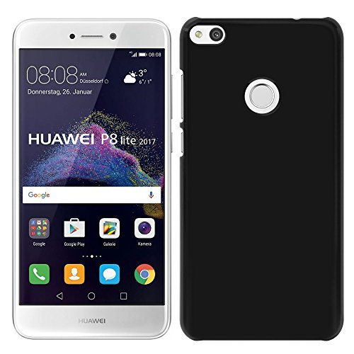 [Breeze-正規品] iPhone ・ スマホケース ポリカーボネイト [Black]ファーウェイ ノバライト ケース HUAWEI nova lite 608HW ケース SIMフリー nova liteカバー 液晶保護フィルム付 全機種対応 [NOVAL]