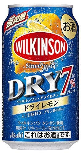【2019年発売】ウィルキンソン・ドライセブン ドライレモン [ チューハイ 350ml×24本 ]