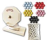 ガラポン抽選器300球用 (専用抽選球300個付き) 玉が詰まりにくいABS製