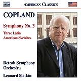 コープランド:交響曲 第3番 他 画像