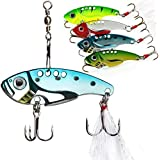 Wanby Spinner Spoon Swimbait Vibrating Jigging Freshwater Saltwater Fishing Tackle Lures and Baits