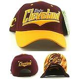 新しいトップPro Cleveland Cavaliers色ワインレッドゴールドC調節可能な時代帽子キャップ