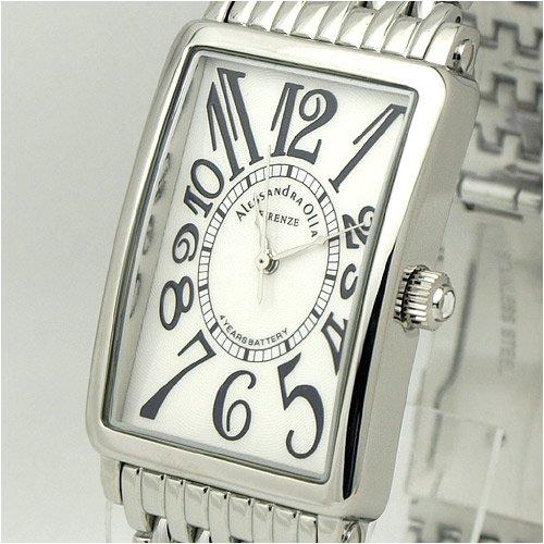 [アレサンドラオーラ]Alessandra Olla 腕時計 カーブガラス AO-1990-1 メンズ
