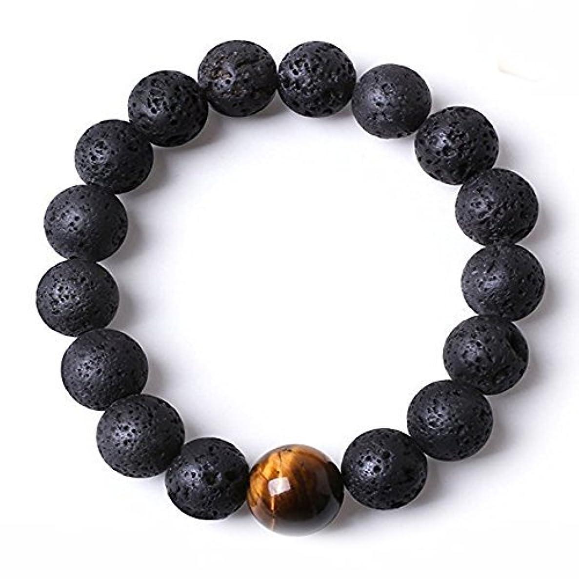 モンゴメリー浮くペルメルDiffuserブレスレットW / 7チャクラLava stones-mens Womens純正のヨガブレスレットヒーリング、アロマセラピー、瞑想、自然、エッセンシャルオイル、自己自信、LoveフリーアロマテラピーBook...
