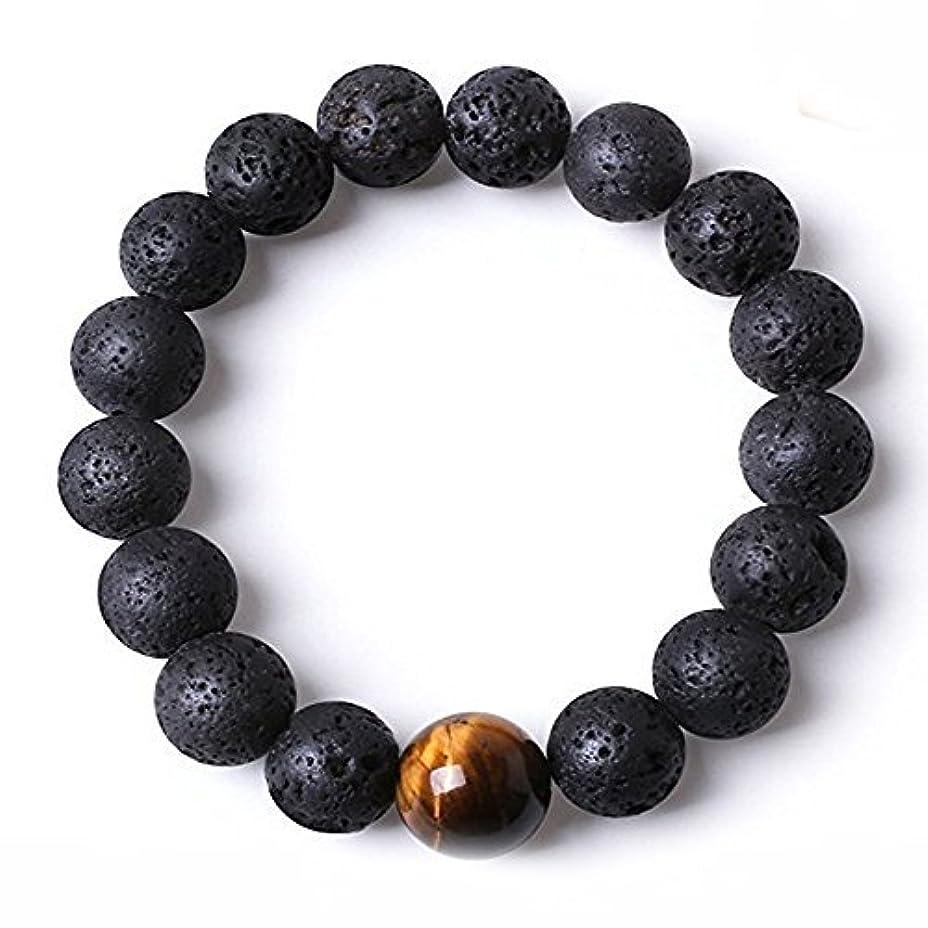 自動化リンク不足DiffuserブレスレットW / 7チャクラLava stones-mens Womens純正のヨガブレスレットヒーリング、アロマセラピー、瞑想、自然、エッセンシャルオイル、自己自信、LoveフリーアロマテラピーBook...